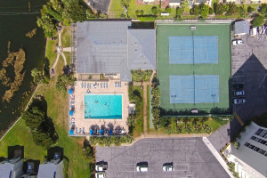 Community Amenities Aerial View
